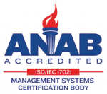 ANAB Management Systems Certifcation Logo