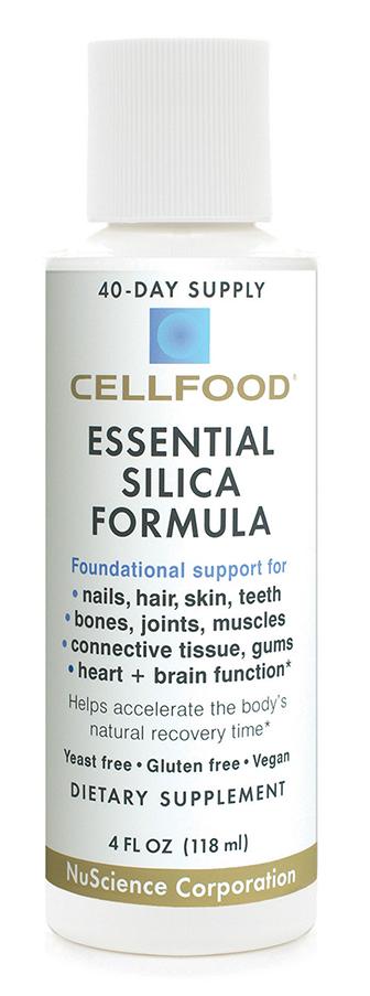 Cellfood Essential Silica Formula 4 Oz Bottle
