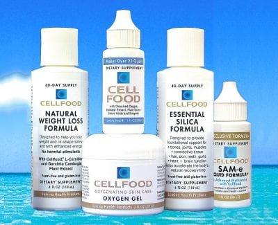 Cellfood Family Of Products