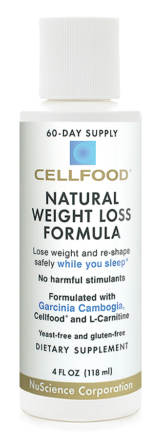 Cellfood Natural Weight Loss Formula 4 Oz Bottle